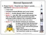 manned spacecraft9