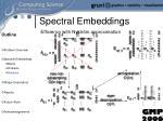 spectral embeddings15