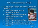 the characteristics of life12