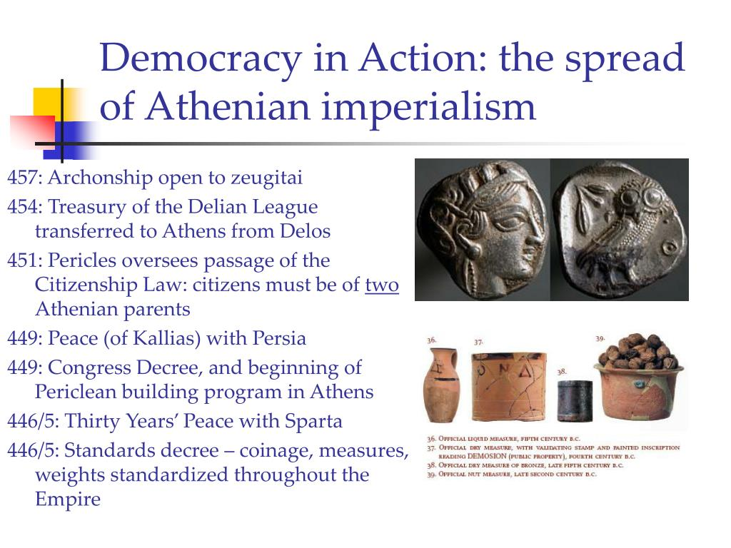 Democracy in Action: the spread of Athenian imperialism
