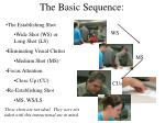 the basic sequence