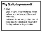 why quality improvement13