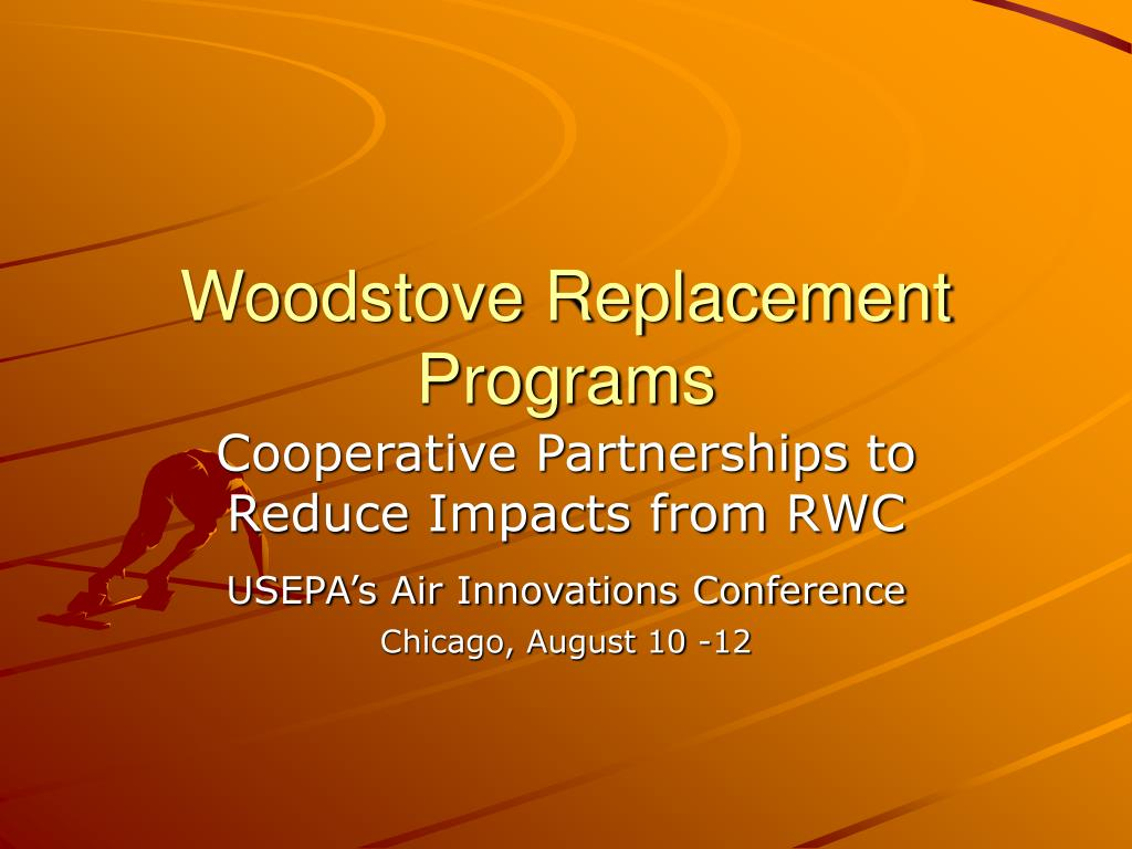 woodstove replacement programs l.