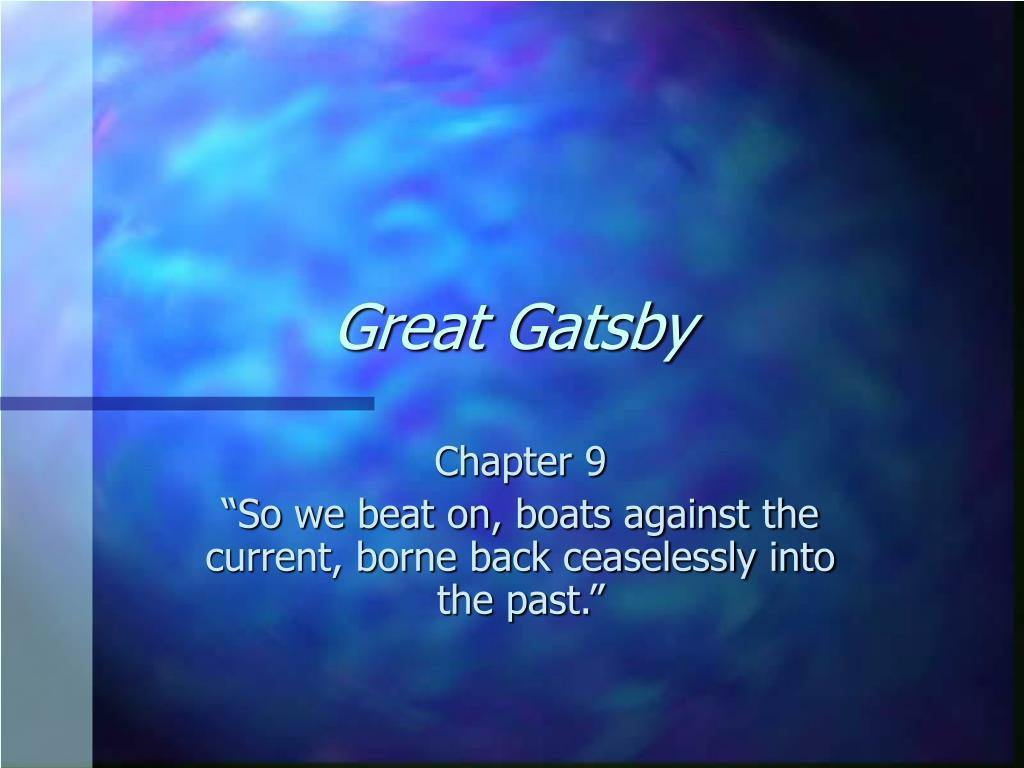 great gatsby l.