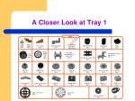 a closer look at tray 1