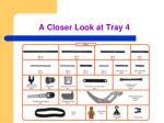 a closer look at tray 4