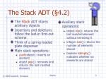 the stack adt 4 2