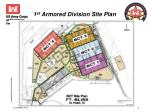 1 st armored division site plan