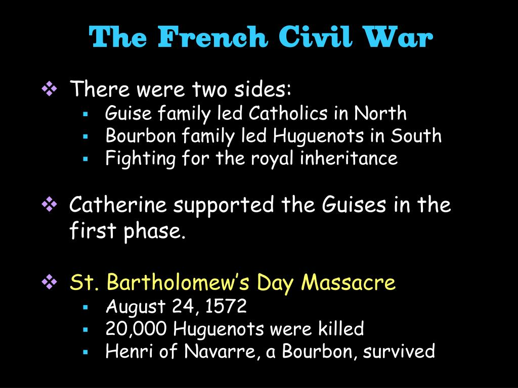 The French Civil War