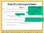 textfileoutputdemo part 1