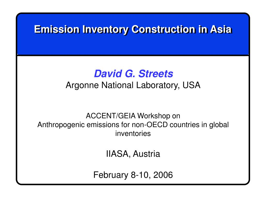 emission inventory construction in asia l.