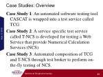 case studies overview