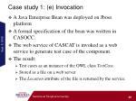 case study 1 e invocation