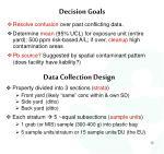decision goals