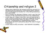 citizenship and religion 2