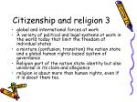 citizenship and religion 3