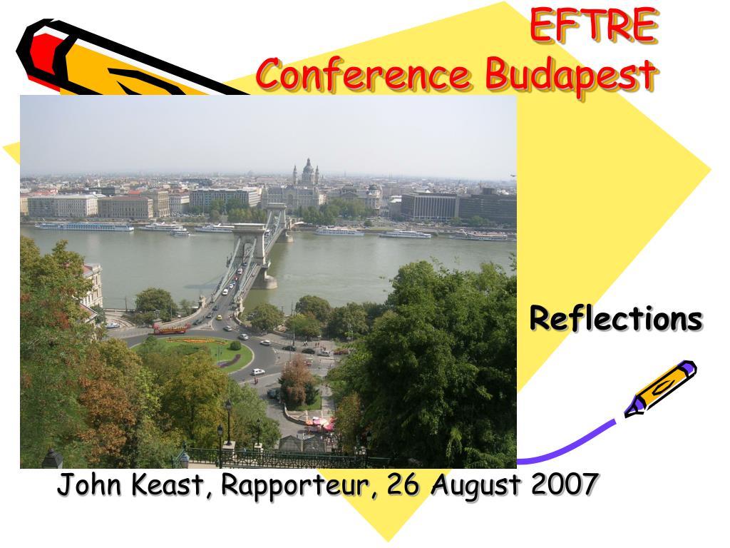 eftre conference budapest l.