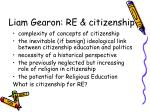 liam gearon re citizenship