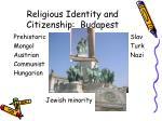 religious identity and citizenship budapest