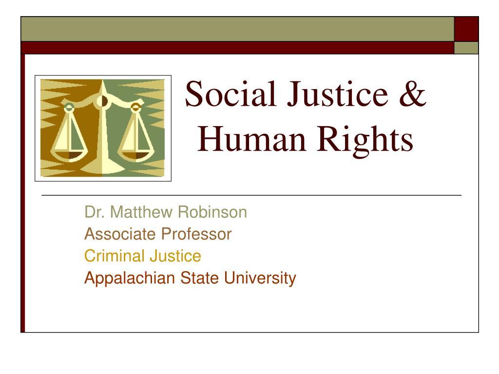 social justice human rights l.