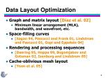 data layout optimization