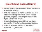 greenhouse gases cont d20