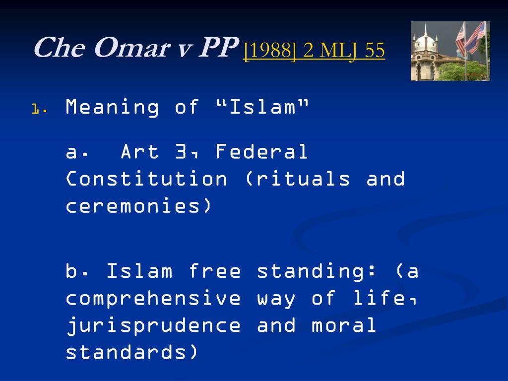 Che Omar v PP
