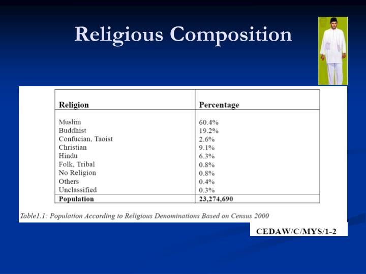 Religious composition