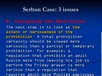 serban case 3 issues81
