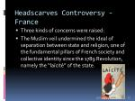 headscarves controversy france31