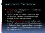 headscarves controversy