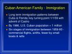 cuban american family immigration