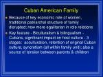 cuban american family