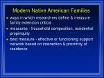 modern native american families88