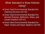 what standard is rose hulman using6