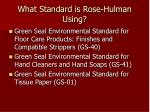 what standard is rose hulman using7