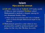 islam hijra and the ummah