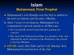 islam muhammad final prophet45
