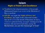 islam night of power and excellence