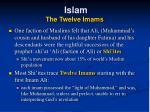 islam the twelve imams