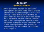 judaism rabbinic judaism31