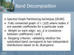 band decomposition48
