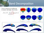 band decomposition49