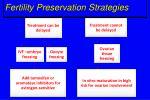 fertility preservation strategies