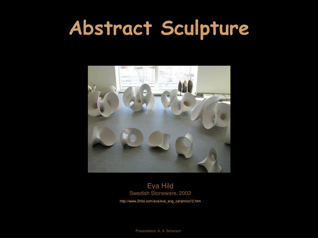 abstract sculpture l.