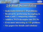 2 d blind deconvolution14