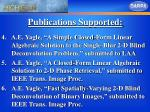 publications supported25