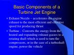 basic components of a turbine jet engine42