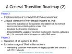 a general transition roadmap 2