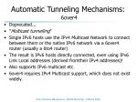 automatic tunneling mechanisms 6over4
